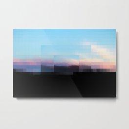 A Sun Sets in Sun Sets in the Sun Metal Print