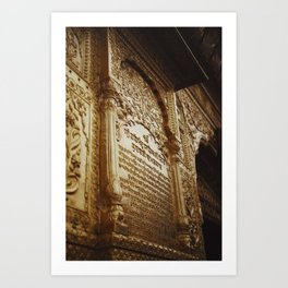Exteriors of Golden Temple Art Print