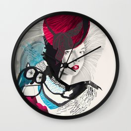 jokergirl Wall Clock