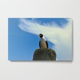 Not a Penguin Metal Print