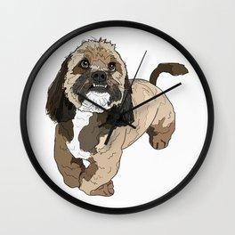 Lhasa Apso Dog Wall Clock