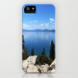 Lake Tahoe, Nevada iPhone Case