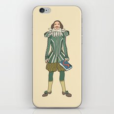 Outfit of Shakespeare iPhone & iPod Skin