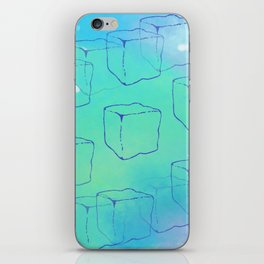 Ice Cube Chill iPhone Skin