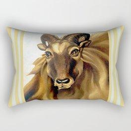 Tahr Portrait Rectangular Pillow