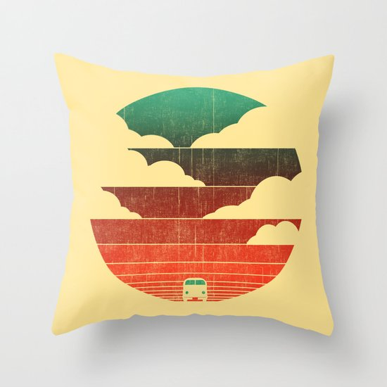 Go West Throw Pillow