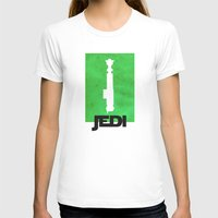 jedi T-shirts featuring Vintage Jedi by Fletcher McKinney