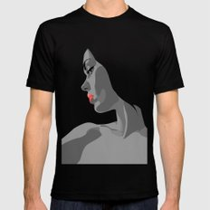 Profile Black MEDIUM Mens Fitted Tee