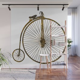 Penny-farthing Wall Mural