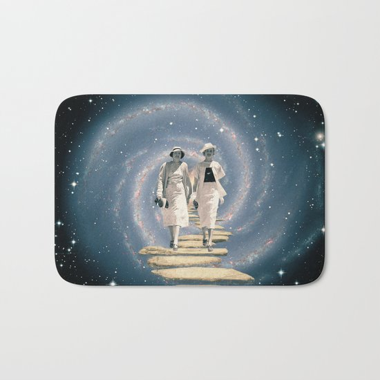 Leaving the Milky Way Bath Mat