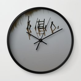 The river 's cryptic message Wall Clock