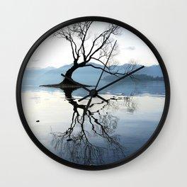 The Wanaka Tree, South Island, New Zealand Wall Clock