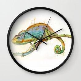Chroma Chameleon Wall Clock
