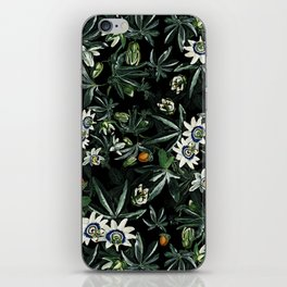 EXOTIC GARDEN - NIGHT XI iPhone Skin
