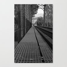 Rails of Travel Canvas Print