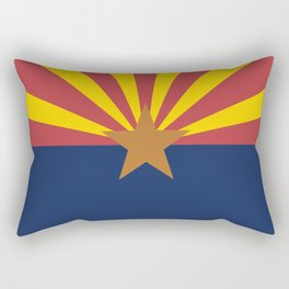 Flag of Arizona Rectangular Pillow