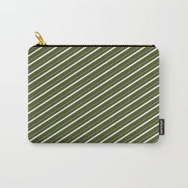 Cactus Garden Stripes 2D Carry-All Pouch