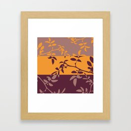 Inverted Nature Framed Art Print