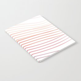 Pink Stripes Notebook