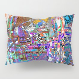 pink installation Pillow Sham
