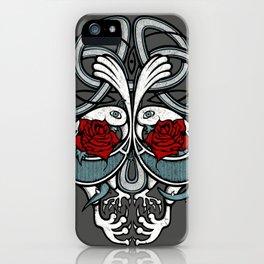 Celtic Skull iPhone Case