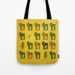 Woodragons Pattern Tote Bag