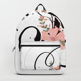 Letter B of the alphabet Backpack