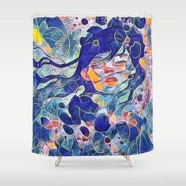 NATURAL FEMINITY Shower Curtain