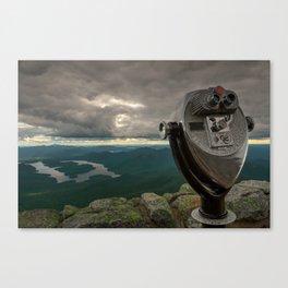 Lake Placid Vista Canvas Print