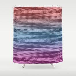 Bodacious Waves Shower Curtain