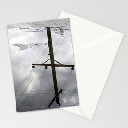 Reflections on Perpendicular Lines Stationery Cards
