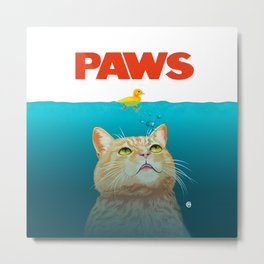 Paws! Metal Print