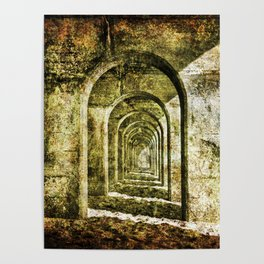 Ancient Arches Poster
