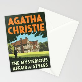 Agatha Christie - The Mysterious Affair at Styles Stationery Cards