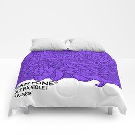 Pantone Ultra Violet 2018 Comforters