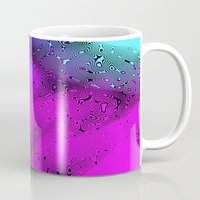 bubbles Mugs featuring Bubbles by Abstract Designs