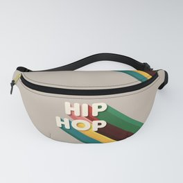 HIP HOP - typography Fanny Pack