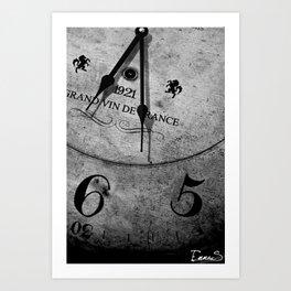 It's time Art Print
