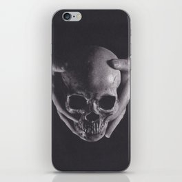 Death in His Hands iPhone Skin