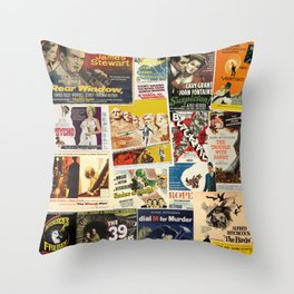 Alfred Hitchcock 2 Throw Pillow
