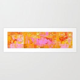 Carnavais Passados Art Print