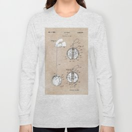 patent art Zopf Yo-Yo 1969 Long Sleeve T-shirt