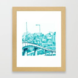 Han River Seoul Framed Art Print