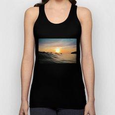 Sunset in Paradise Unisex Tank Top