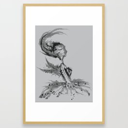 Still Fairy Framed Art Print