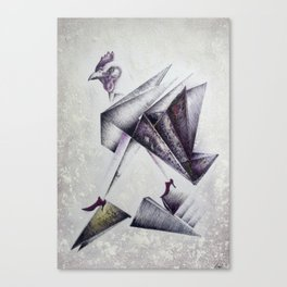 VIP chicken Canvas Print