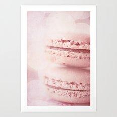 les petits macarons Art Print