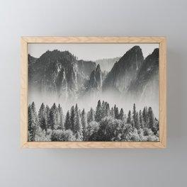 Yosemite Valley X Framed Mini Art Print