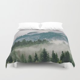 Vancouver Fog Duvet Cover