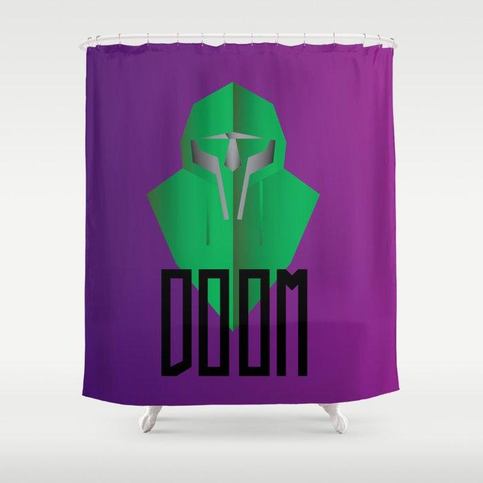 MF DOOM Shower Curtain